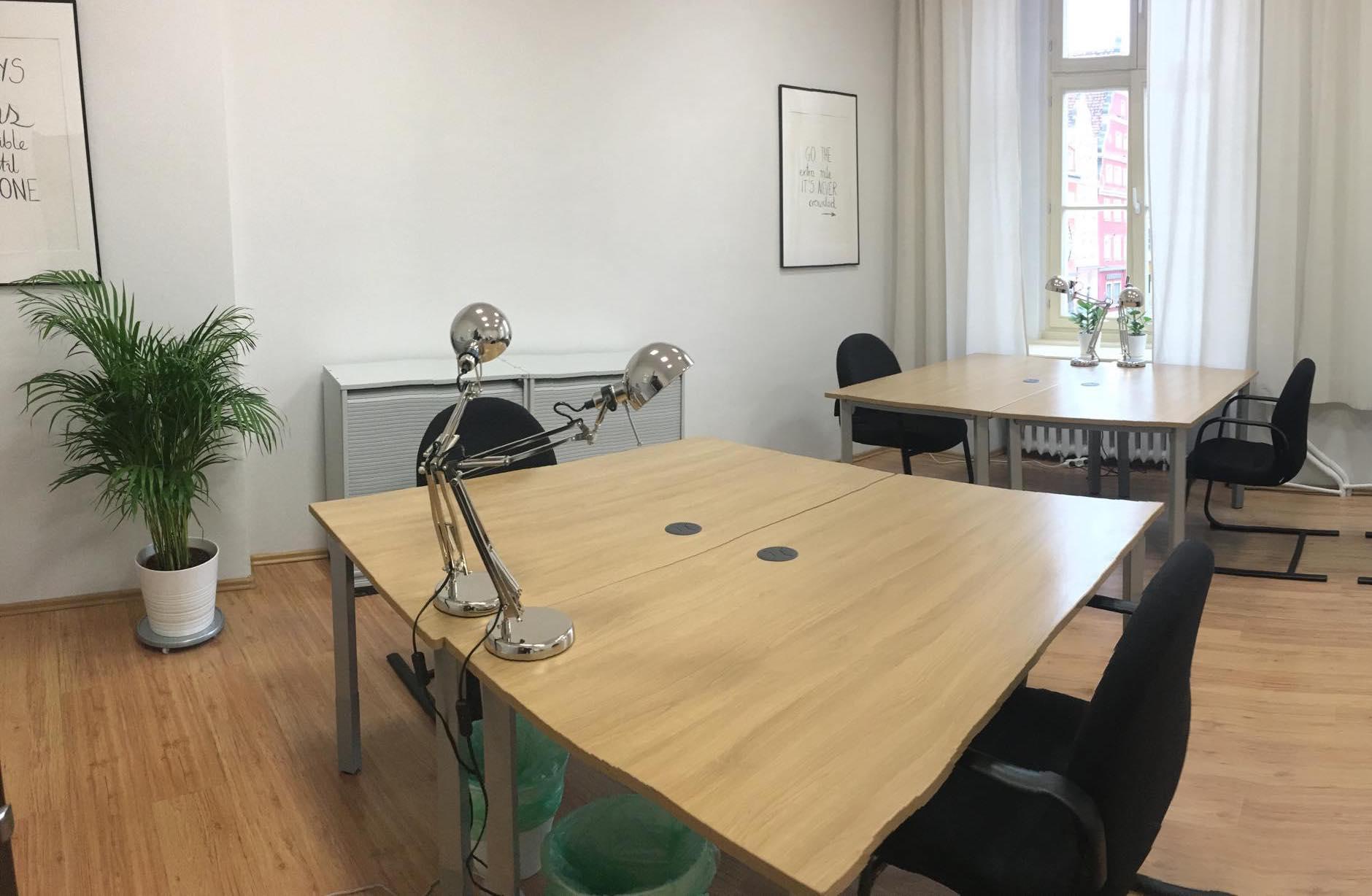 Idealna przestrzeń biurowa dla Twoich potrzeb!